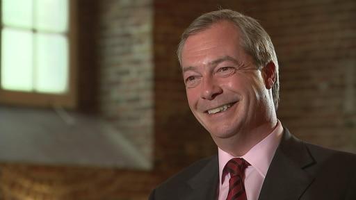 Nigel Farage: I made mistakes and I got wonky