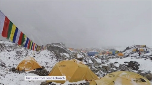 Nepal earthquake: the Mount Everest rescue attempt