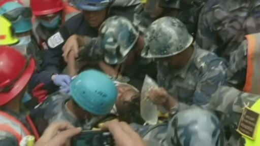 Nepal earthquake 'miracle' as teen rescued from the rubble