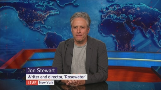 Jon Stewart speaks to Jon Snow about Rosewater and the election