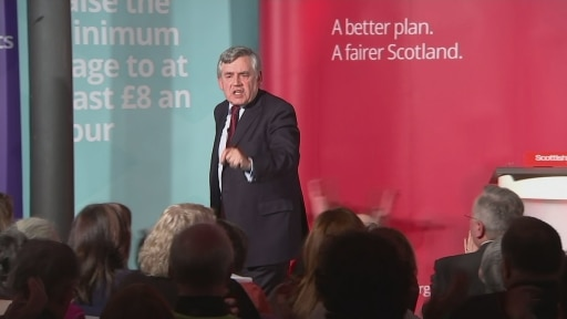 Gordon Brown the footsoldier: could he pull it off again?