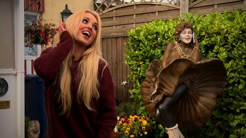 #HollyoaksAAA With Jorgie Porter