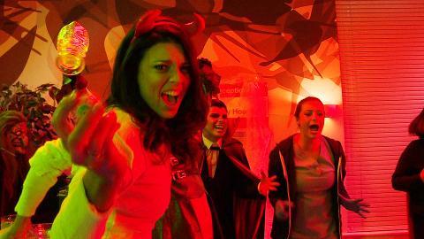 #HollyoaksHalloweenLive: The Blood-Boiler Challenge