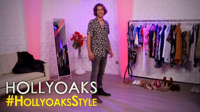 #HollyoaksStyle - Liam's Laid Back Vintage Look