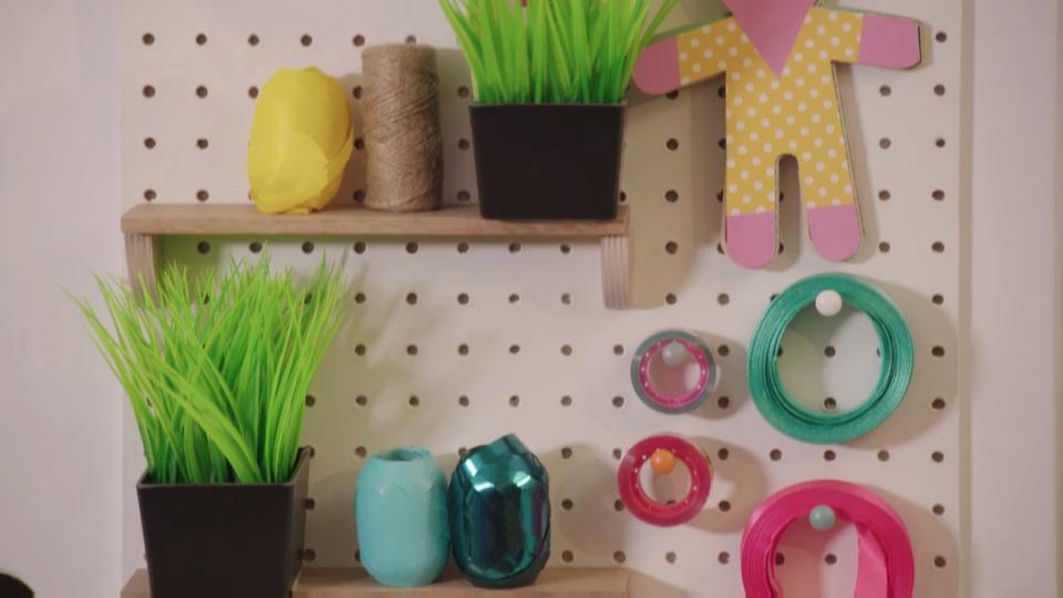 Make a Crafty Pegboard