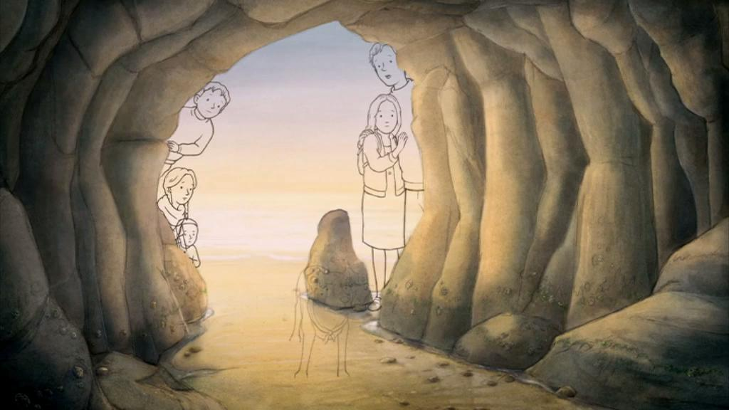 Painting the Bear Hunt: Cave