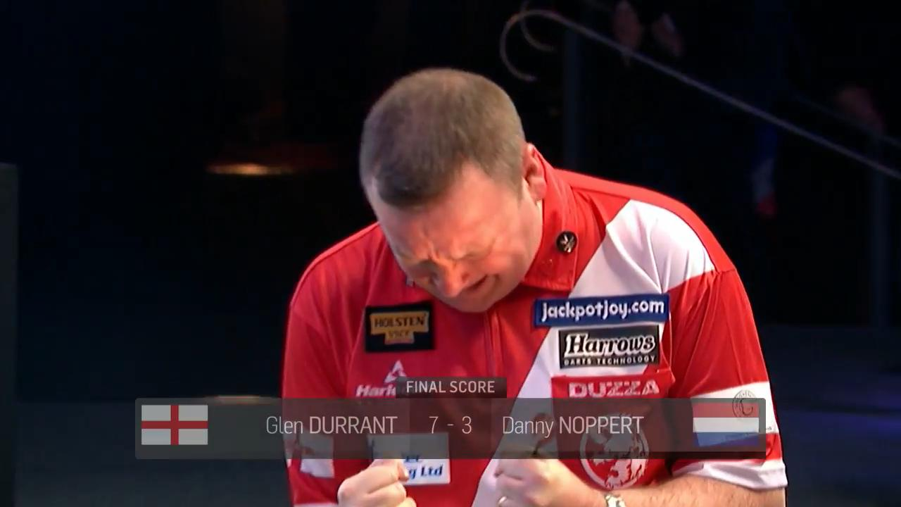 Brilliant Durrant beats Noppert to become world champion