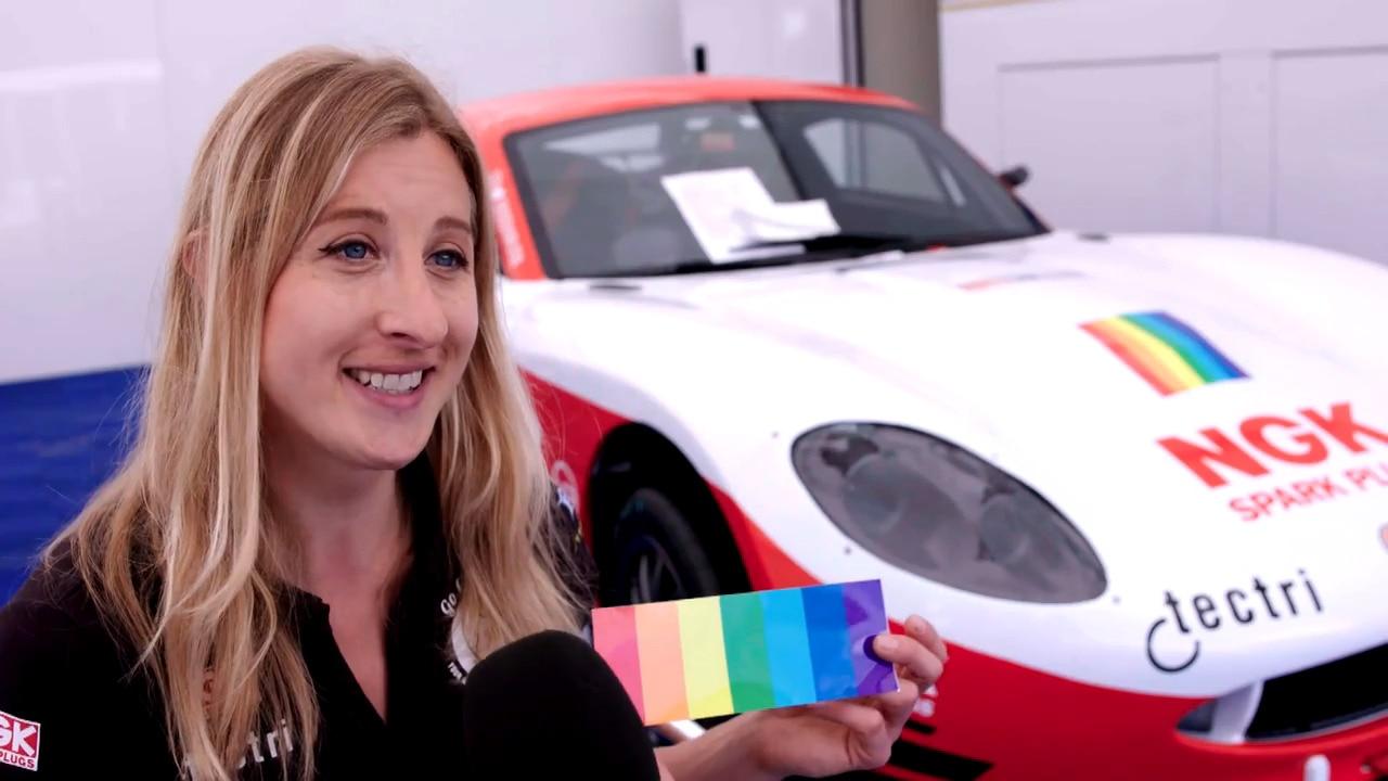 Racing driver Charlie Martin talks LGBT & racing