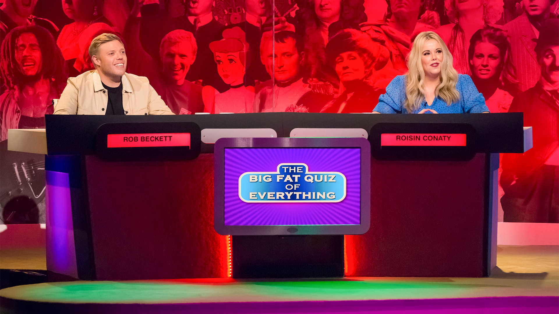 Big Fat Quiz All 4 (inches) how much do you thighs spread out when you sit down? big fat quiz all 4