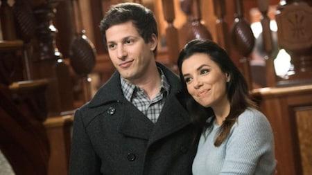 Brooklyn Nine-Nine: Peralta and Sophia