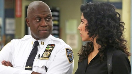 Brooklyn Nine-Nine: Holt and Diaz