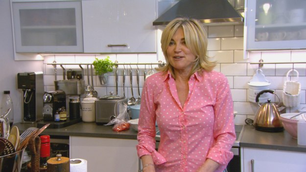 Celebrity Come Dine With Me - London - Night 1: Anthea Turner