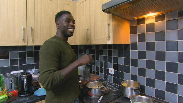 Celebrity Come Dine With Me - London - Night 2: Marcel Somerville