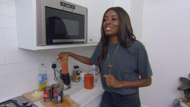 Celebrity Come Dine With Me - London - Night 5: Aj Odudu