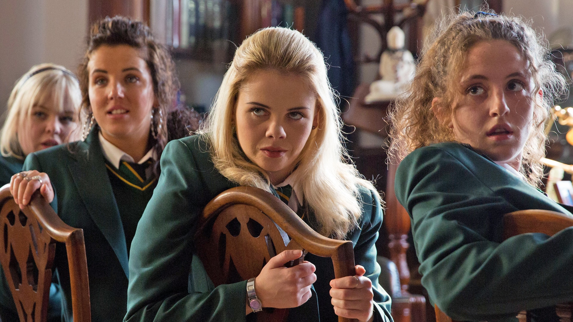 new derry girls 20052018 the crystal maze returns next month with all-new celebrity specials maze master richard ayoade will guide a glittering array of fearless famous faces.