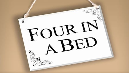 4 in a bed