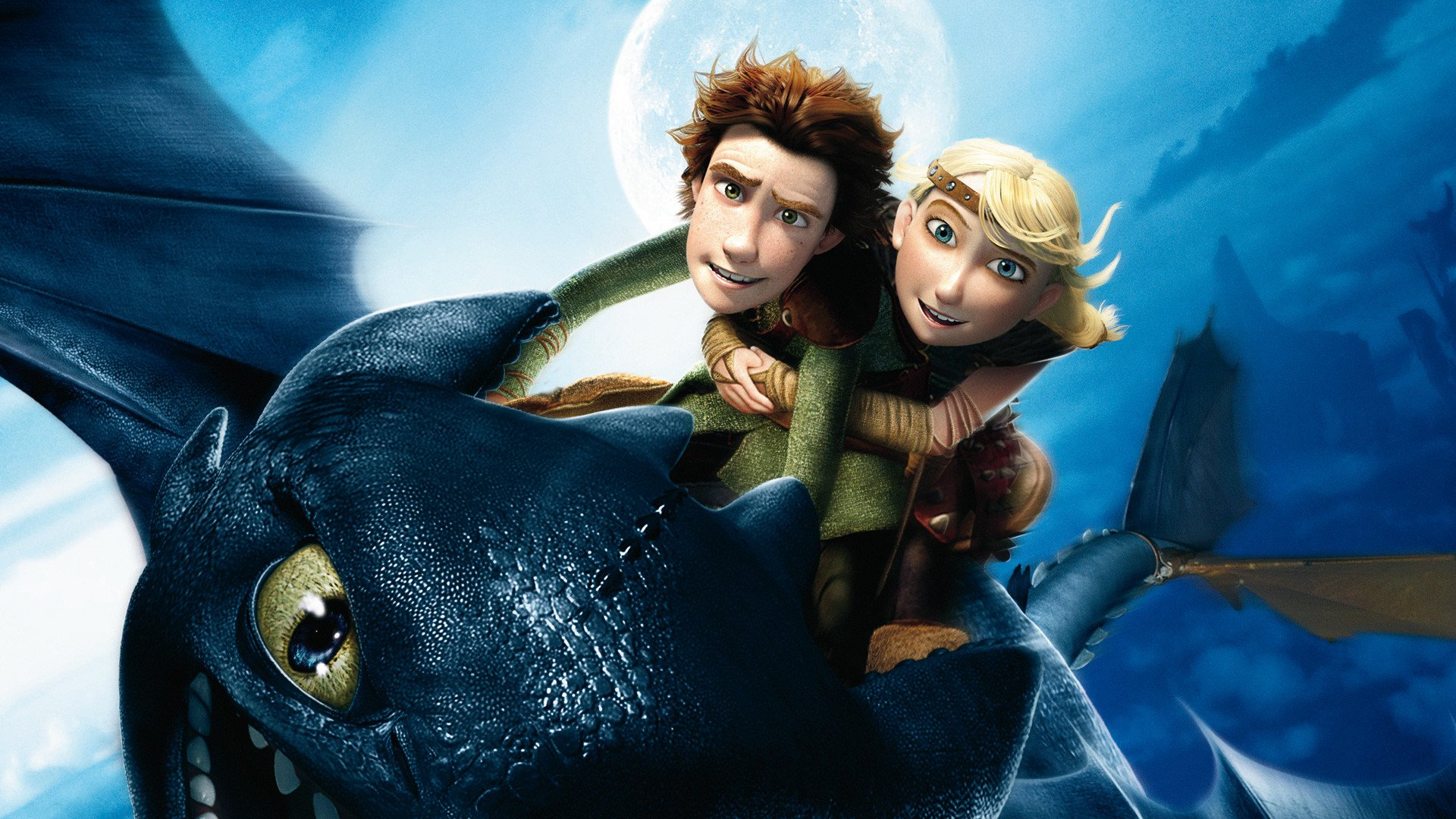how to train your dragon - all 4