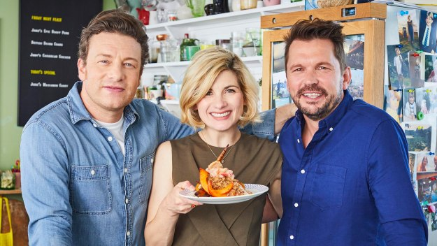 Jamie And Jimmy's Friday Night Feast - Jodie Whittaker, Pork Roast & Thai Curry