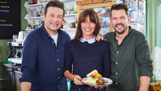 Jamie And Jimmy's Friday Night Feast - Davina Mccall, Rabbit Casserole & Spicy Lamb