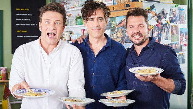 Jamie And Jimmy's Friday Night Feast - Stephen Mangan & Fresh Pasta Ravioli