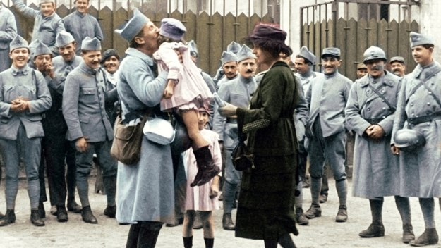 Life After Wwi: In Colour - Return To Hell
