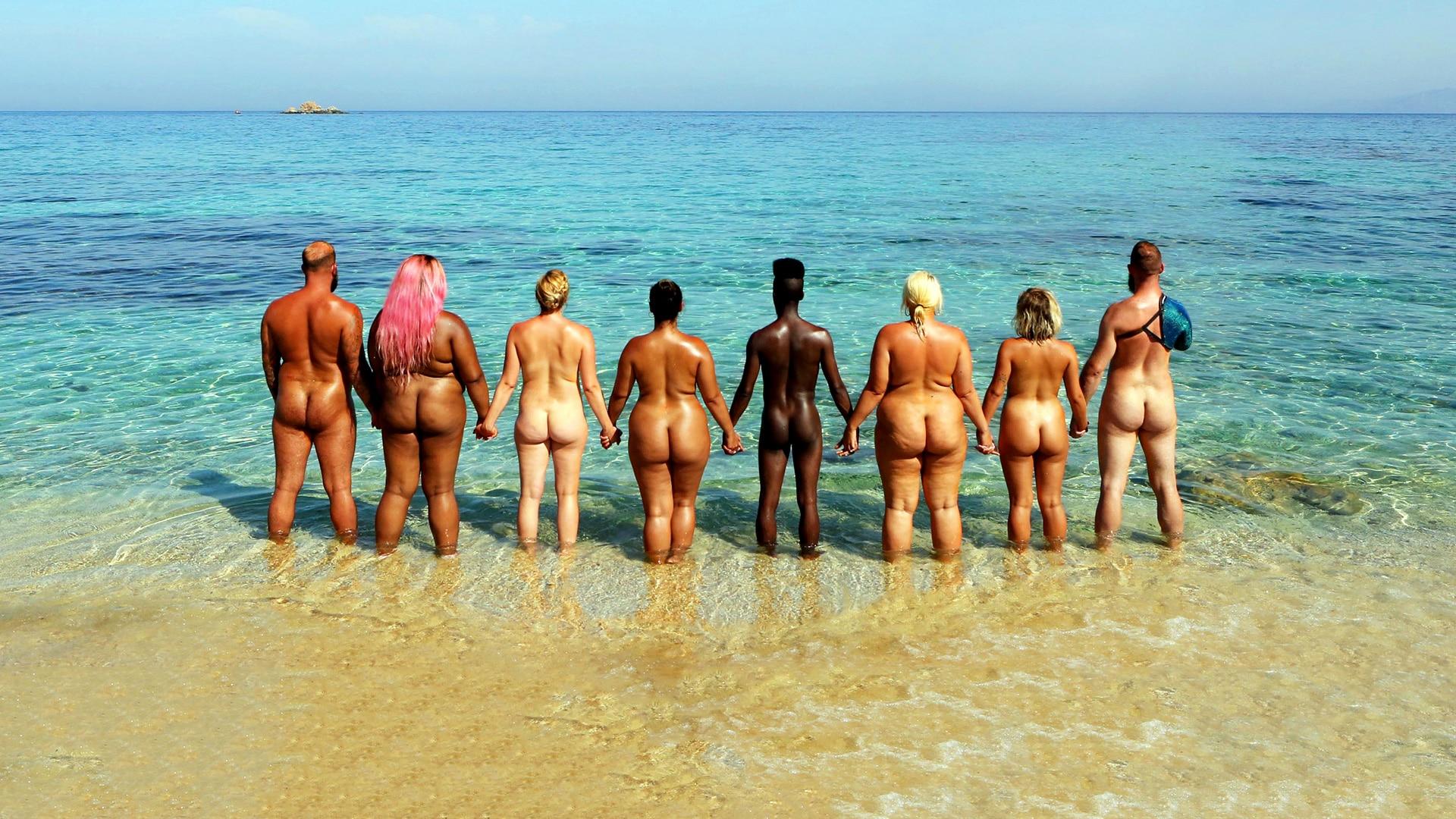 Naked black british men