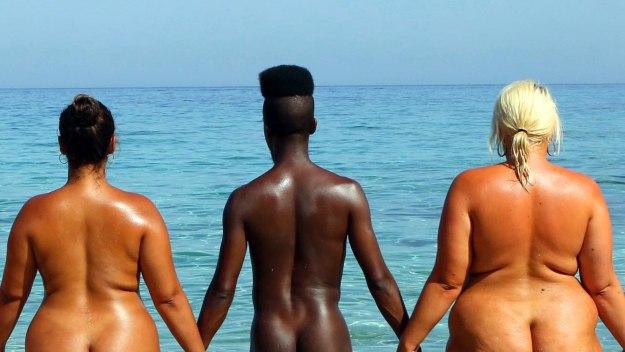 Naked Beach - Elysia, Darrell, Kaye