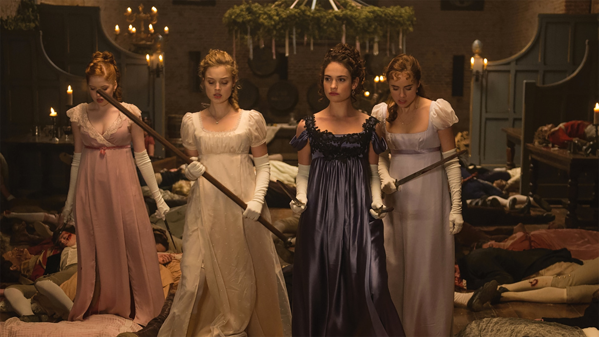 Pride and Prejudice and Zombies - All 4