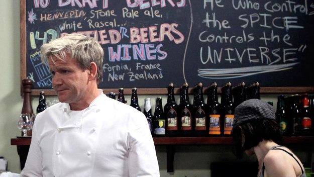 Ramsay's Kitchen Nightmares Usa - The Burger Kitchen Part 1