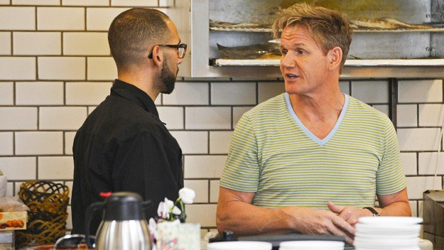 Ramsay's Kitchen Nightmares Usa - Zayna Flaming Grill Part 1