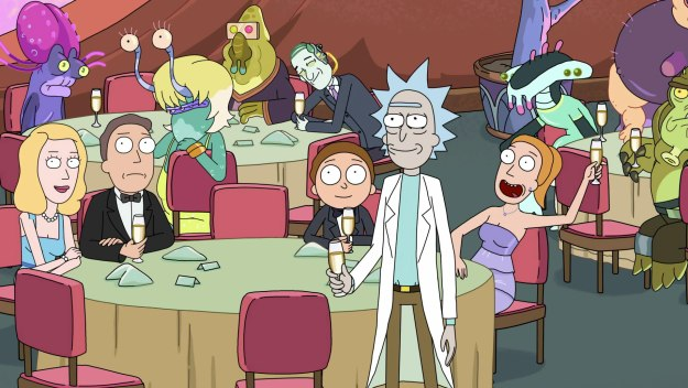 Rick And Morty - The Wedding Squanchers
