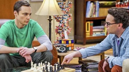 The Big Bang Theory: Sheldon and Leonard
