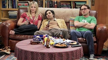 The Big Bang Theory: Penny, Raj and Leonard