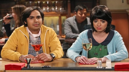 The Big Bang Theory: Raj and Lucy