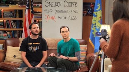 The Big Bang Theory: Wil, Sheldon and Amy