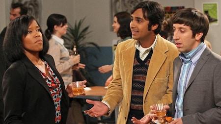 The Big Bang Theory: Janine, Raj and Howard