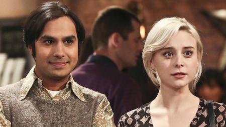 The Big Bang Theory: Raj and Claire