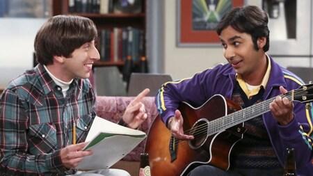 The Big Bang Theory: Howard and Raj