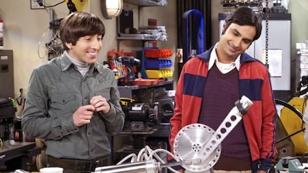 The Big Bang Theory: Howard and Raj
