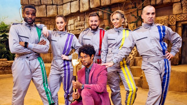 The Crystal Maze - Series 1 Episode 1: Celebrity Special