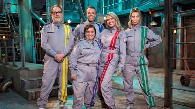 The Crystal Maze - Series 6 Episode 3: Celebrity Crystal Maze