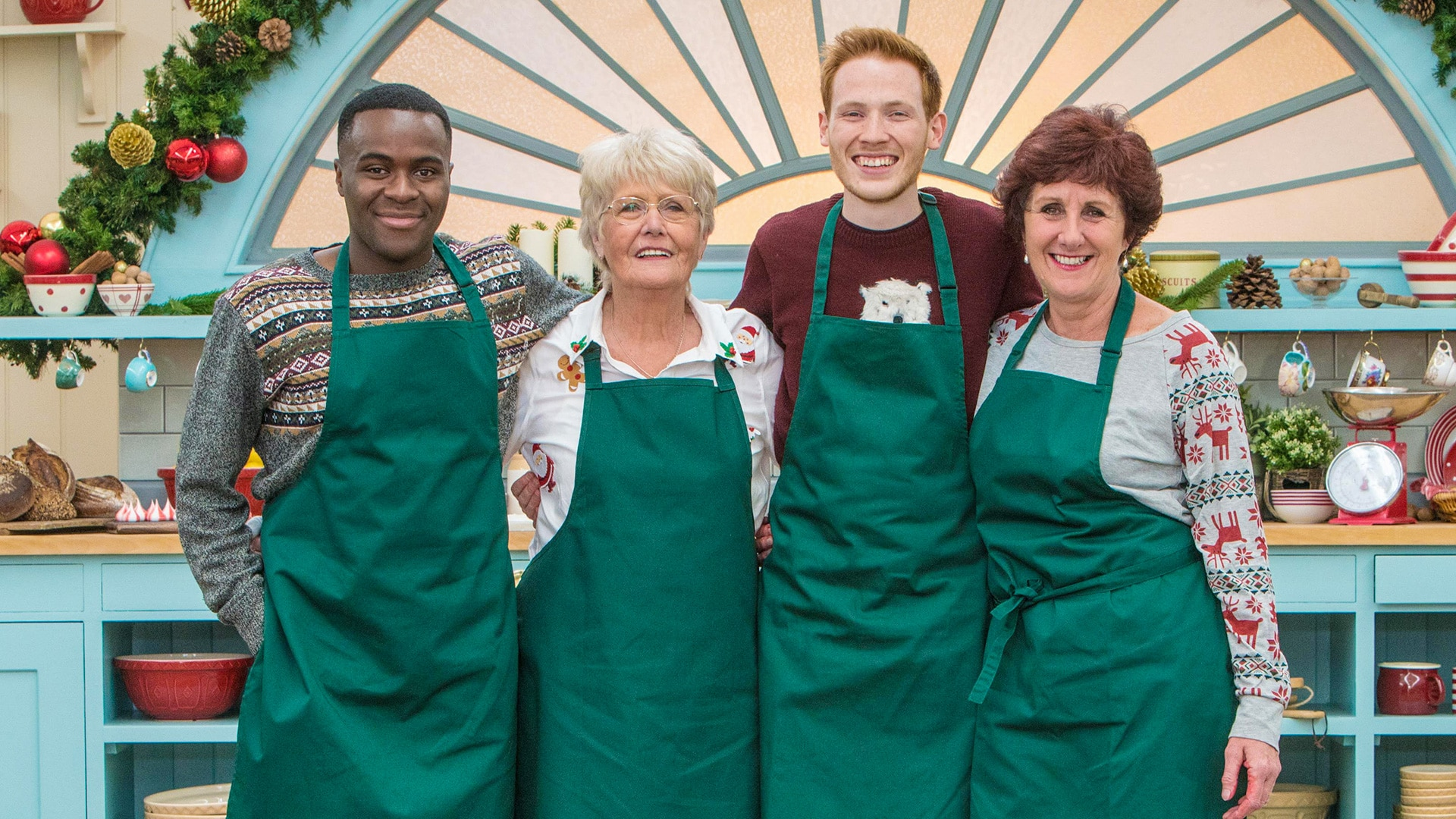 The Great British Bake Off: Festive Specials - All 4