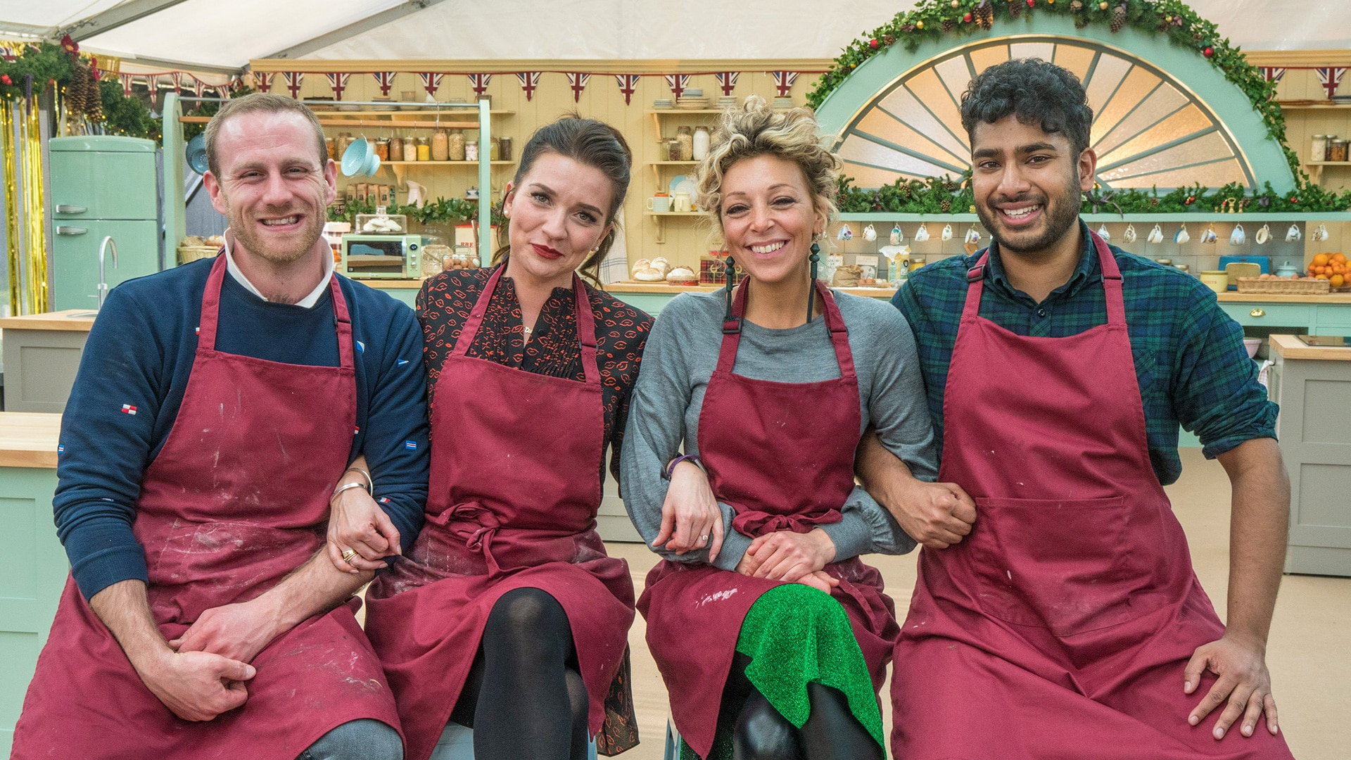 The Great British Bake Off Christmas Special 2020 The Great British Bake Off: Festive Specials   All 4
