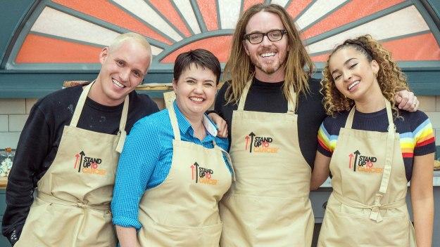 The Great Celebrity Bake Off For Su2c - Tim Minchin, Ruth Davidson, Jamie Laing &  Ella Eyre
