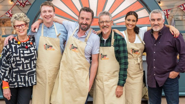The Great Celebrity Bake Off For Su2c - Lee Mack, Griff Rhys Jones, Melanie Sykes & Joe Lycett