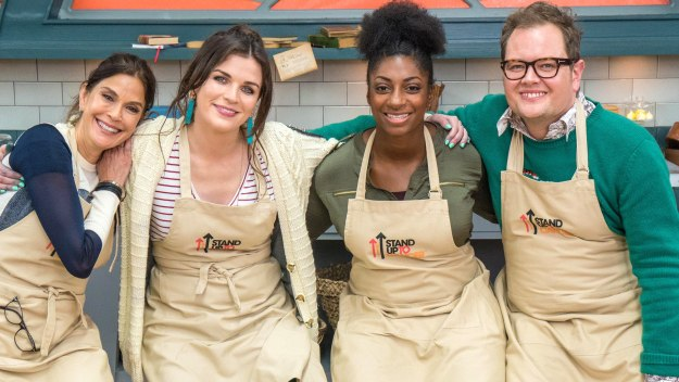 The Great Celebrity Bake Off For Su2c - Alan Carr, Aisling Bea, Kadeena Cox & Teri Hatcher