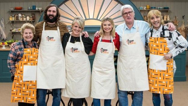 The Great Celebrity Bake Off For Su2c - Jeremy Paxman, Joe Wilkinson, Sally Lindsay, Georgia Toffolo