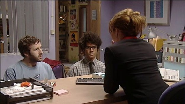 The It Crowd - Speech