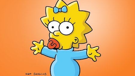 The Simpsons: Maggie
