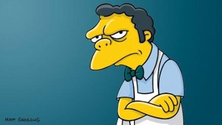 The Simpsons: Moe